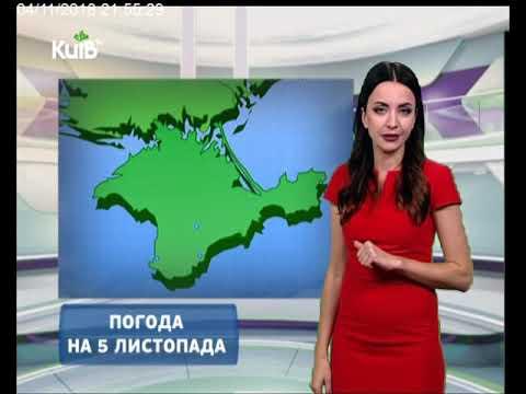 Телеканал Київ: Погода на 05.11.18