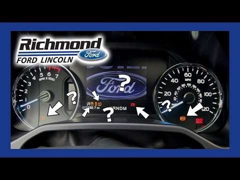 Ford F-150 Dashboard Lights - What They Mean And What To Do