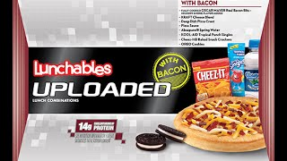 Lunchables Uploaded Deep Dish Pizza Review