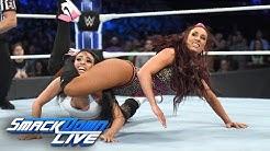 """R-Truth & Carmella vs. Andrade """"Cien"""" Almas & Zelina Vega:  SmackDown LIVE, Oct. 2, 2018"""