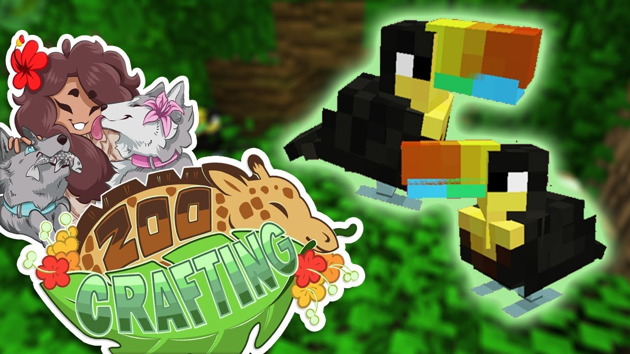 Fanning Out Feathery Plans!! 🐼🌿 Zoo Crafting • #64