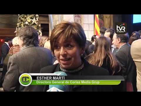 Corisa Media Grup rep el Premi Nacional de Comunicació de Proximitat