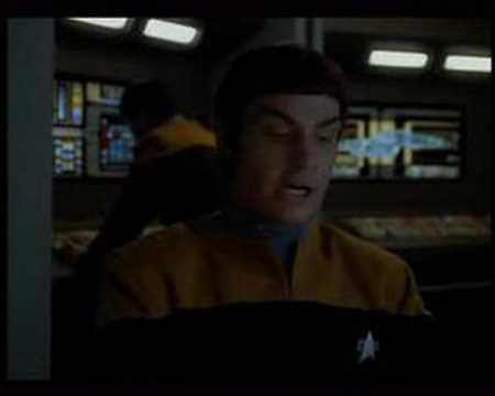 Star Trek Voyager - B'Elanna ejects the warp core