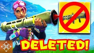 5 Deleted Fortnite Items You'll NEVER Get To Use