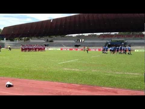 How Indonesia's National Rugby Team Faced The Haka from Guam