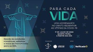 #ParaCadaVida - Homenagem Especial às vítimas da covid-19