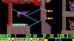 Lemmings full playthrough (DOS)