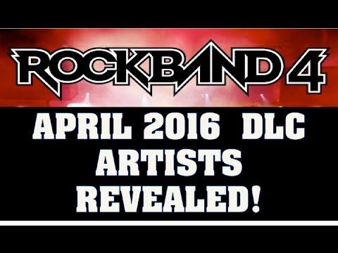 Rock Band 4 April DLC Artists Revaled! 21 Pilots, Justin Bieber, Weezer, Lamb of God, the Romantics!