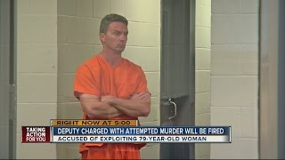 Sheriff: Deputy charged with attempted murder