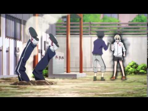 Смотреть Смешной момент из аниме Aoharu x Kikanjuu
