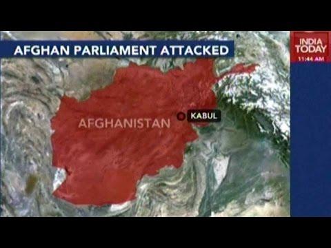 Suicide Car Bomb Blast In Kabul