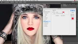 Photoshop Quick-Tip: Lips, Glossy Lips, Ombre Lips