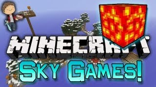 Minecraft: Sky Games w/Mitch, Jerome & Noah!