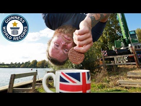 Highest Bungee Dunk - Guinness World Records