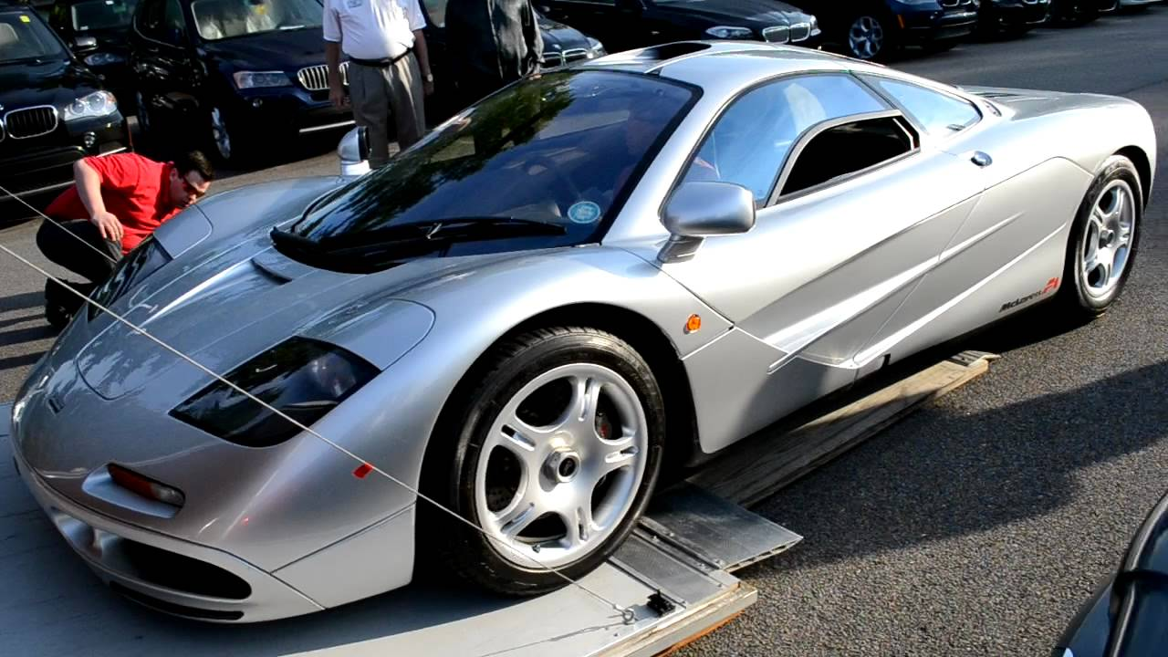McLaren F1 startup rev interior details! HD - YouTube