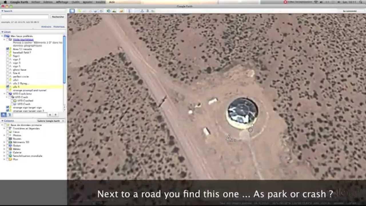 Area 51 Google Earth