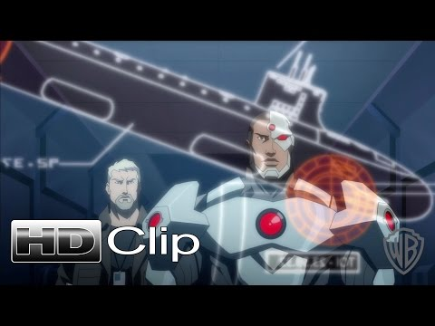 "JUSTICE LEAGUE: THRONE OF ATLANTIS - ""There Is No Justice League"" Clip - Official (2015) [HD]"