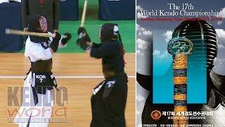 男子団体戦【決勝】韓国×日本【第17回世界剣道選手権大会】 17WKC Men's Team Final: Korea vs. Japan