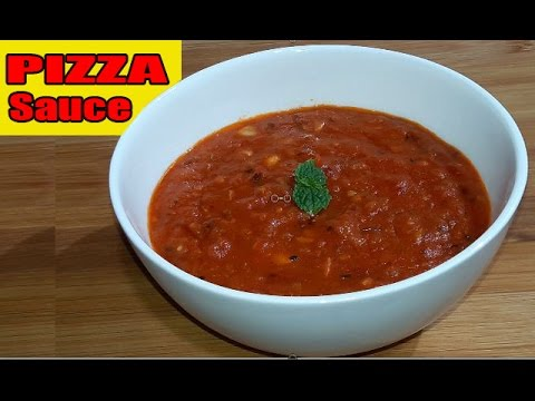 pizza sauce homemade recipe fresh tomatoes in bengali youtube