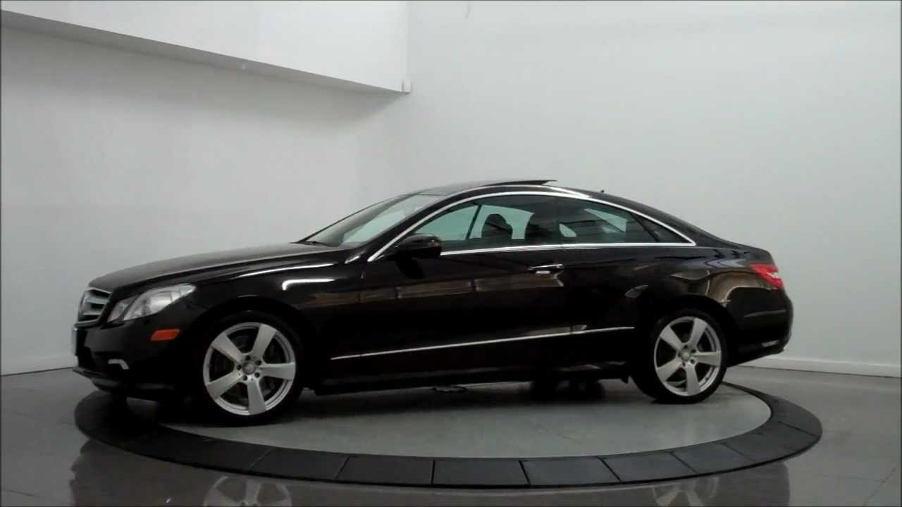 2010 Mercedes-Benz E550 Coupe - YouTube