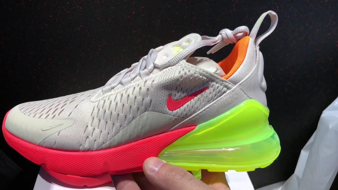 cheaper b44c2 5de5a Nike Air Max 270 Neon womens shoes AH6789 005