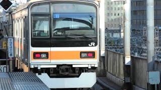 【響くvvvf!】2019/11/30 209系1000番台三菱GTO-vvvf 東京駅発車