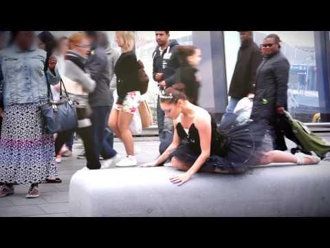 Ballerina Dancing In The Street