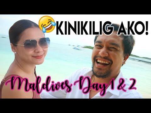 MALDIVES WITH MAJA SALVADOR! KINILIG AKO! ( Day 1 and 2 )| Nina Rayos 💋