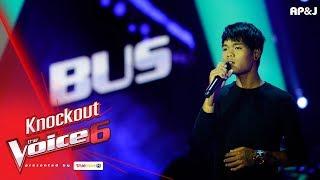 Knock Out : พีพี VS รถบัส 2/3 - หนอนผีเสื้อ - The Voice Thailand 6 - 24 Dec 2017