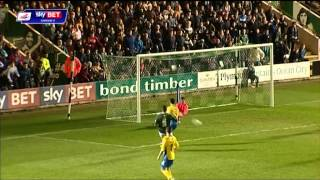 Plymouth Argyle vs Exeter City - League Two 2013/14