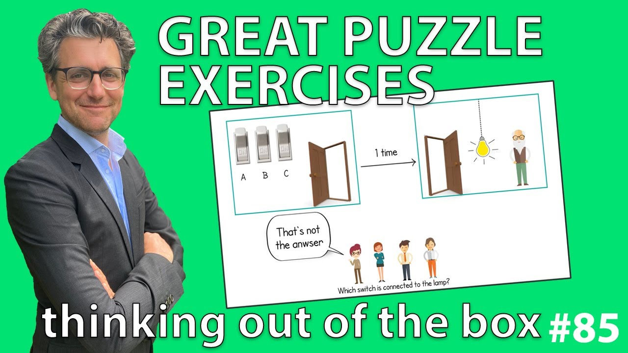Puzzle Exercises Thinking Out Of The Box 85 Youtube