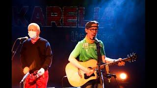 Uffe och Sikke på Kulturhuset Karelias scen