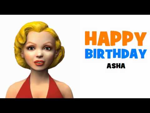 Happy Birthday Asha Youtube