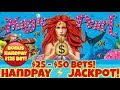 😱 Jackpot Handpay 😱 High Limit Lightning Link $25 & $50 Bets + Bonus Handpay Casino Pokies
