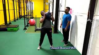 Dhivya Dhuraisami Gym workout Video/ Tamil Cute news Reader Dhivya