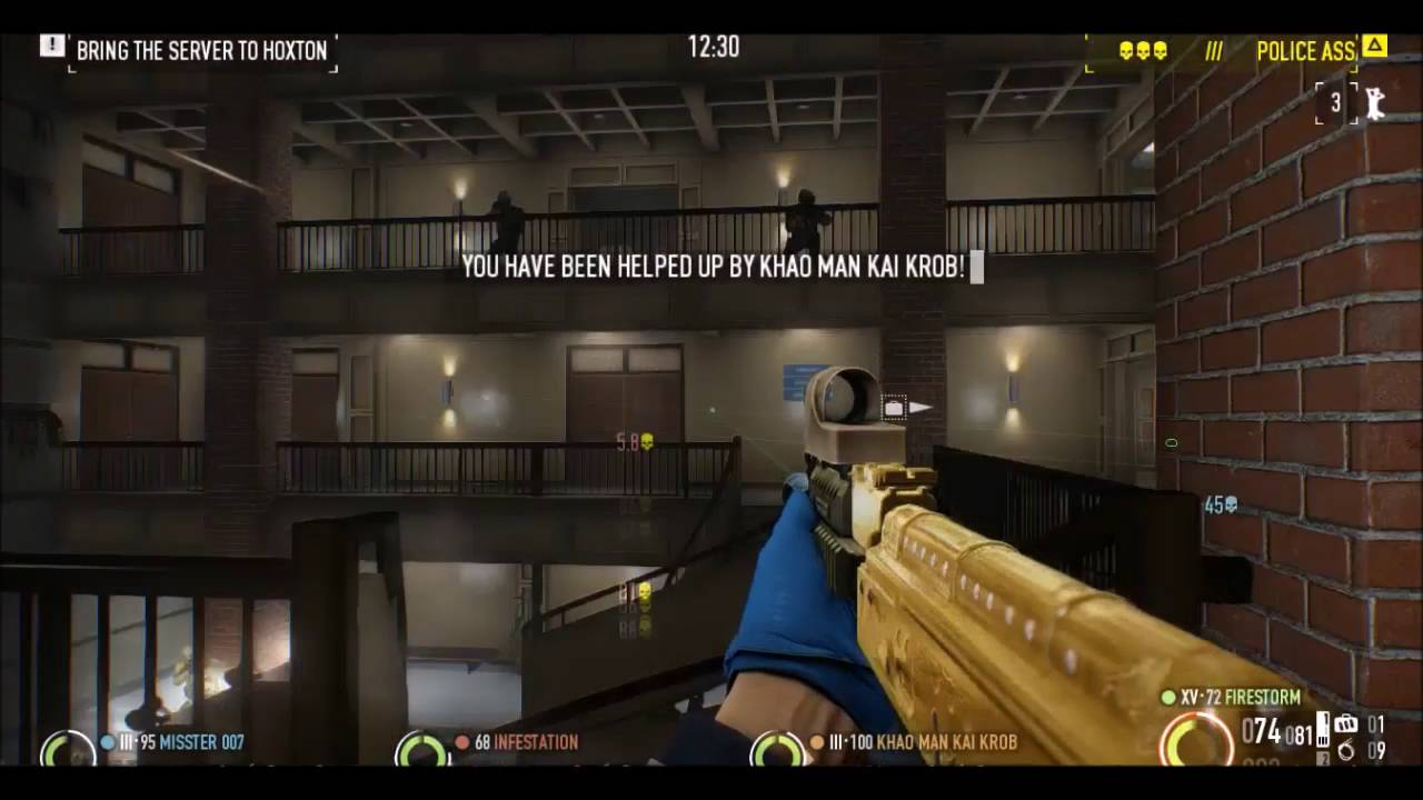 165 Kills In Payday 2 Firing From The Hip Golden Ak Domination
