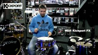kickport fx with and without groove it up drum shop