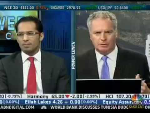 Interview - CNBC Africa - February 2013 - Mohammed Dewji