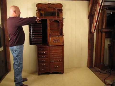 Restoring an Antique Harvard Dental Cabinet #44X Part #2 - Restoring An Antique Harvard Dental Cabinet #44X Part #2 - YouTube