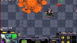 스타크래프트 빨무 3:3 테란 50분경기--;; (starcraft brood war fastest map 3vs3 terran 50minute play)