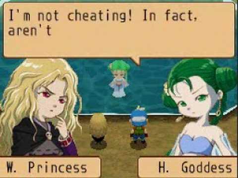Harvest Moon IoH : Harvest Goddess Vs. Witch Princess - Yellow Heart Event