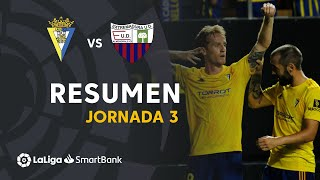 Resumen de Cádiz CF vs Extremadura UD (2-1)