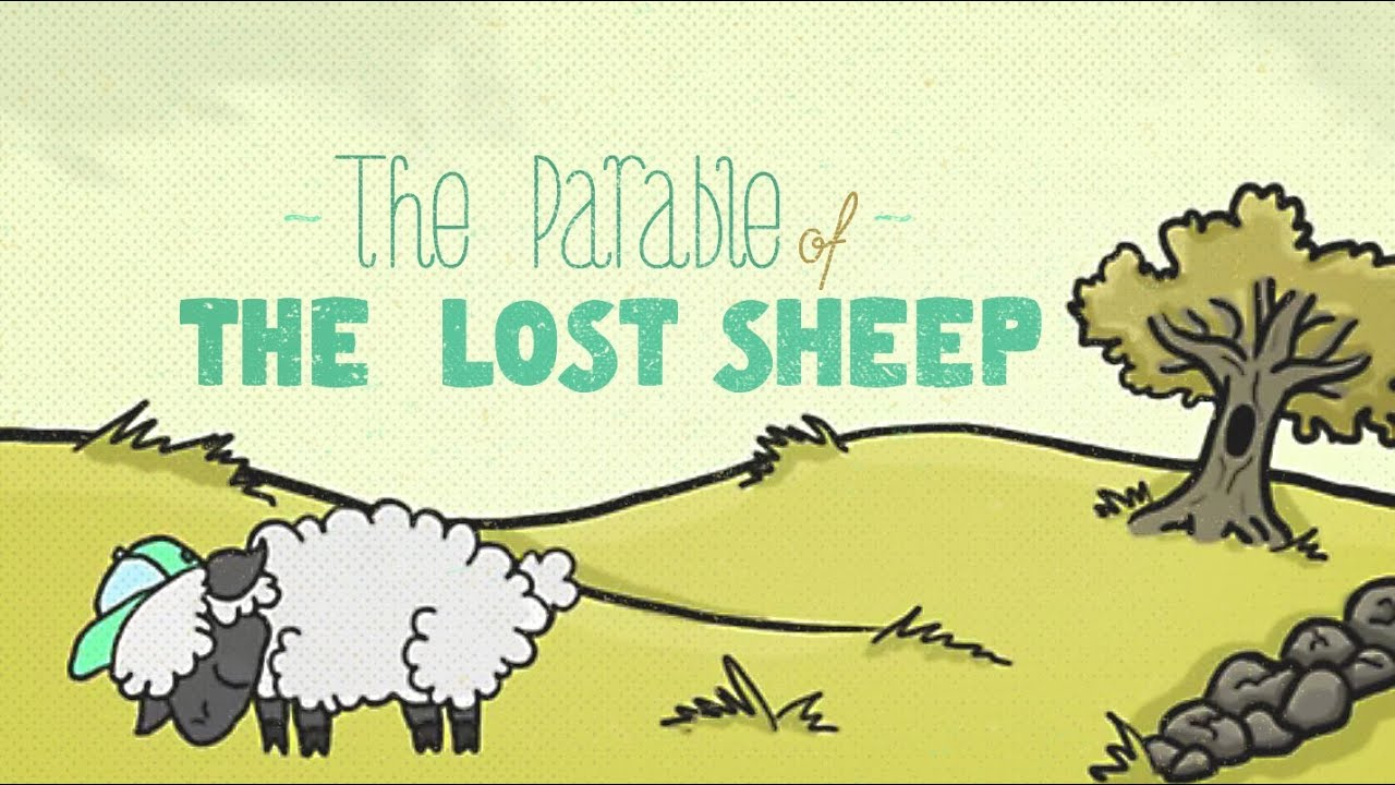 the lost sheep There is a naughty sheep that disobeys her owner which forces her to learn an important lesson bedtime stories for kids.
