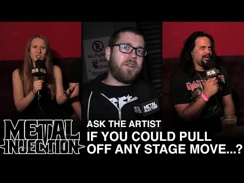 Ask The Artist: If You Could Pull Off ANY Stage Move | Metal Injection