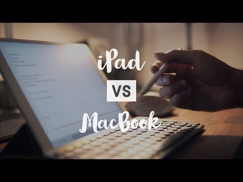 iPad vs Macbook for Students (2018) - Can a tablet replace your laptop?