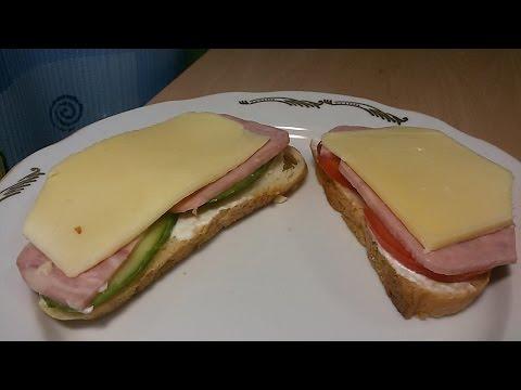 Как готовить бутерброд