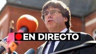 Directo: Carles Puigdemont y Quim Torra en Berlín