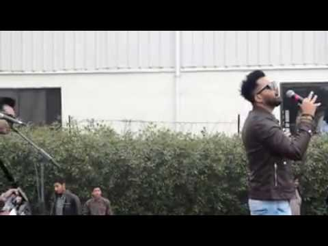 Falak Shabir live performance at UCP Sialkot 2016 PGC tour