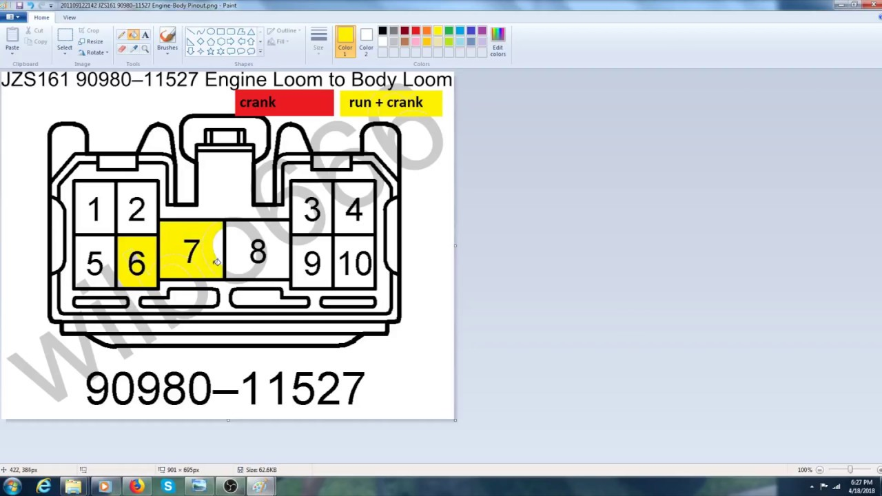 2jzgte Vvti Wiring Made Easy Youtube Dictator Ecu Diagram