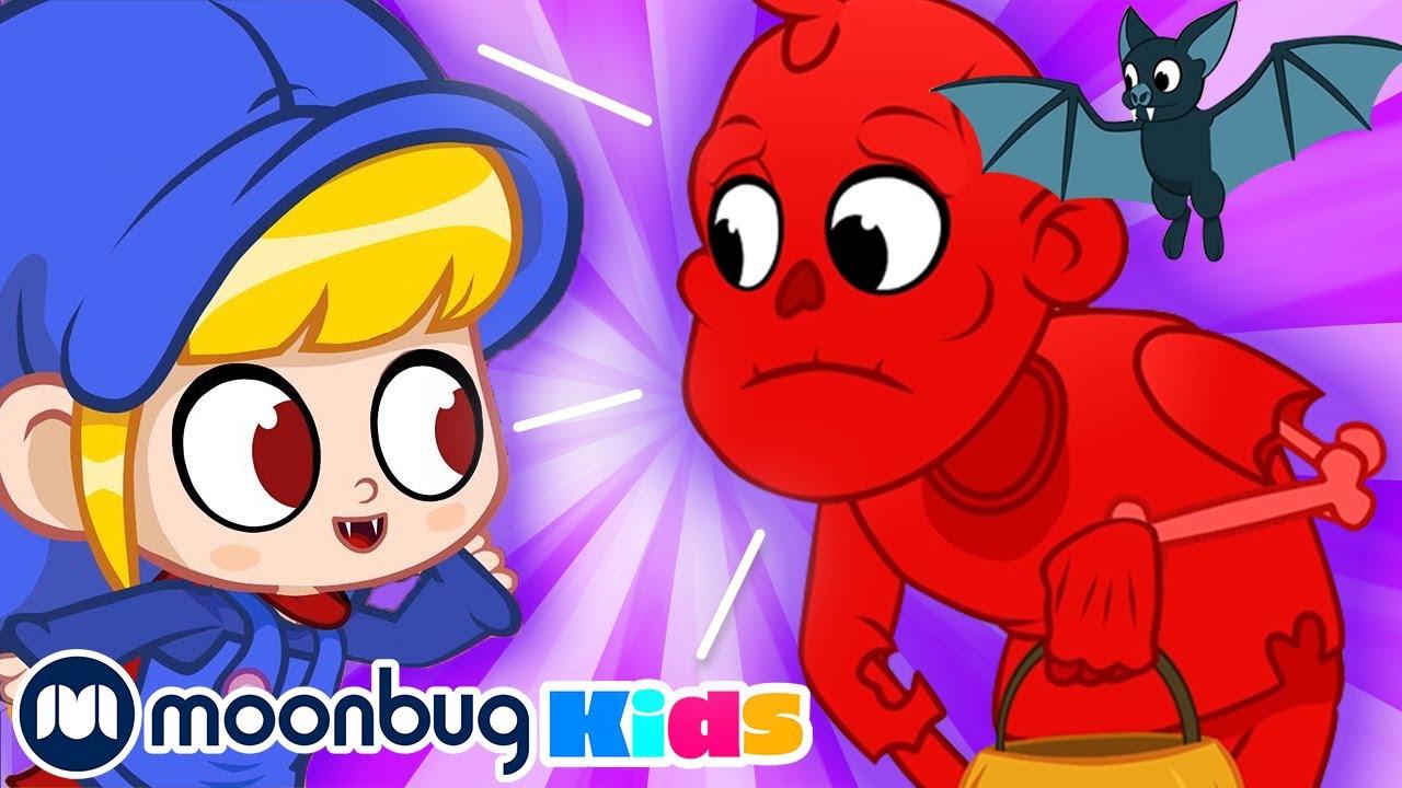 Halloween Candy Monster - My Magic Pet Morphle | Morphle Full Episodes | Cartoons For Kids